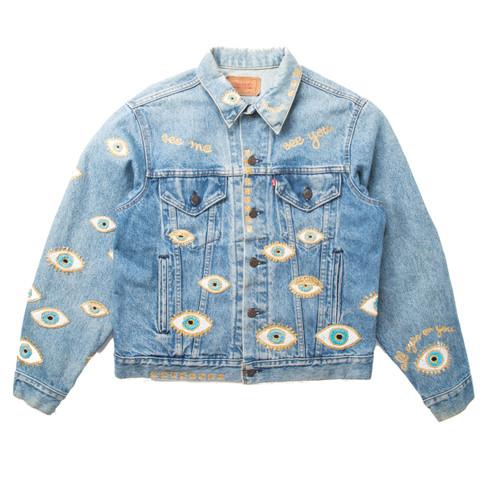 SOLD OUT Metallic Evil Eye Jacket #3