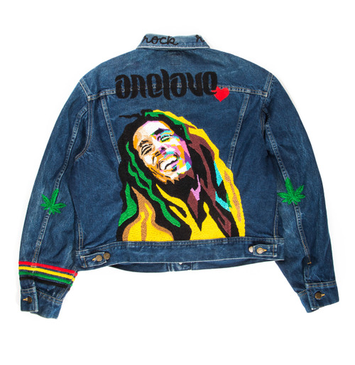 Bob Marley One Love Jacket #4