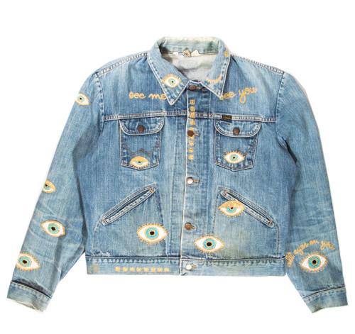 SOLD OUT Metallic Evil Eye Jacket-Light #7