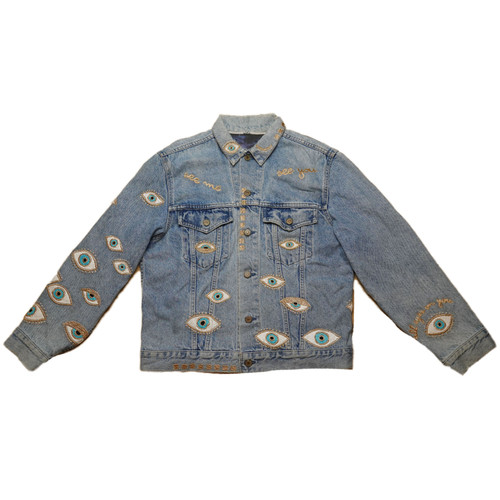 Metallic Evil Eye Jacket #13