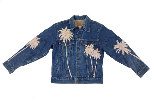 Beaded Palms Jacket #15