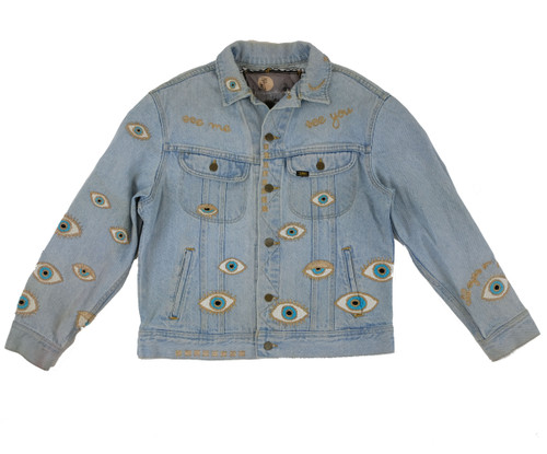 Metallic Evil Eye Jacket #15