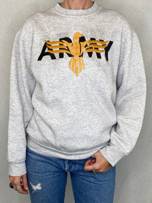 Eagle Vintage Sweatshirt - Heather Grey