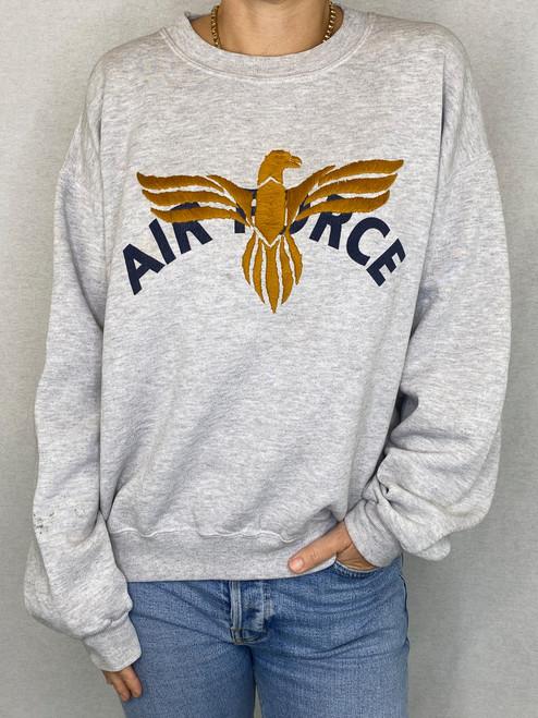 Eagle Vintage Sweatshirt - Heather Grey 2