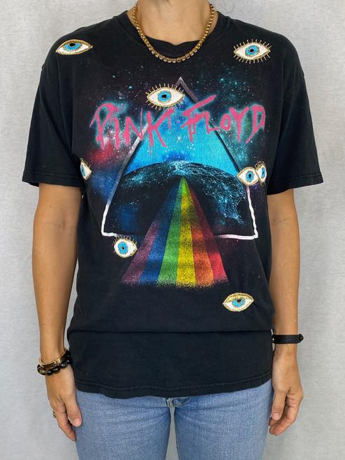 Evil Eye Vintage T-Shirt - Black