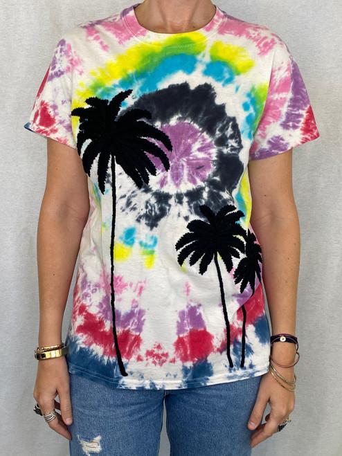 Palms Vintage T-Shirt - Tie Dye