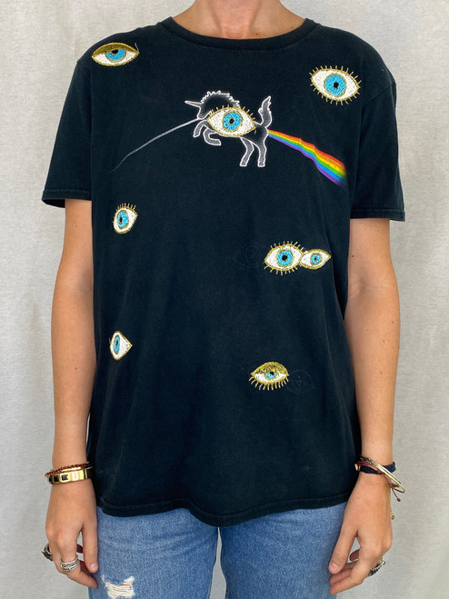 Evil Eye Vintage T-shirt - Black 3