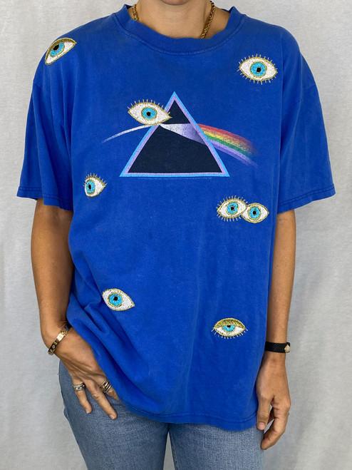 Evil Eye Vintage T-Shirt - Royal