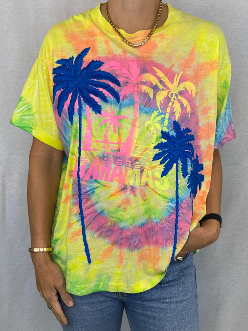 SOLD OUT Palms Vintage T-Shirt - Tie Dye 3