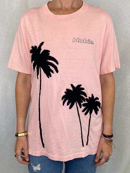 Palms Vintage T-Shirt - Pink