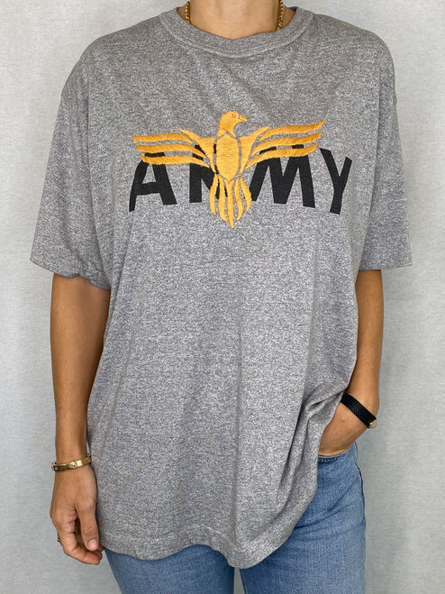 Eagle Vintage T-Shirt - Heather Grey 2