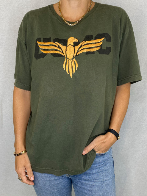 Eagle Vintage T-Shirt - Army