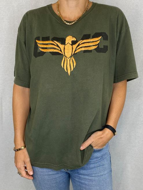 Eagle Vintage T-Shirt - Army