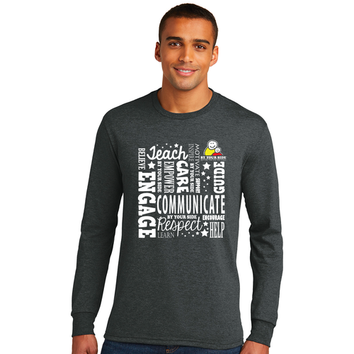 Mens/Unisex Perfect Tri® Long Sleeve Tee - INSPIRE Design