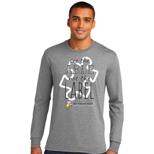 Mens/Unisex Perfect Tri® Long Sleeve Tee - ABLE Design