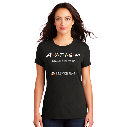 Women's Perfect Tri® Tee - THERE FOR YOU Design