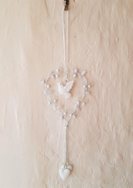 Hanging Heart - Bird