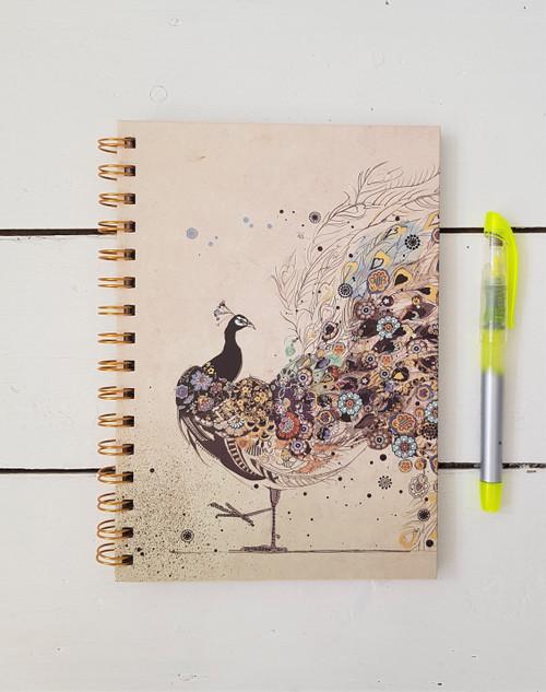 Peacock Notebook, A5