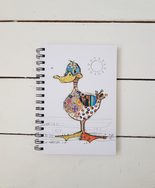 Bug Art Dotty Duck Notebook,A5