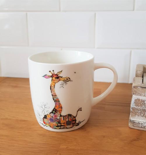 Bug Art Gerry Giraffe Mug
