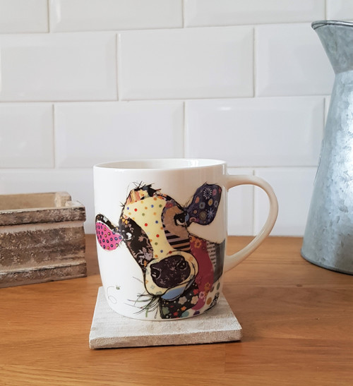 Bug Art Connie Cow Mug