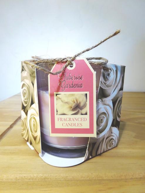 Layered Scented Candle - Tuberose Gardenia
