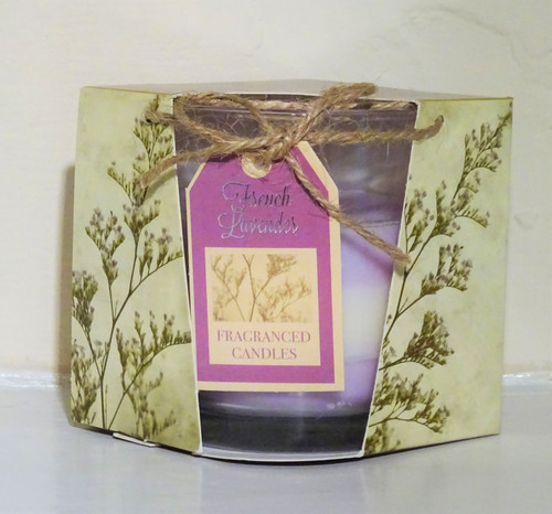 Layered Scented Candle - French Lavender