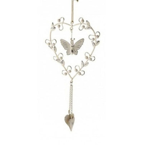 Hanging Heart - Butterfly