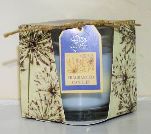 Layered Scented Candle - Crisp Cotton