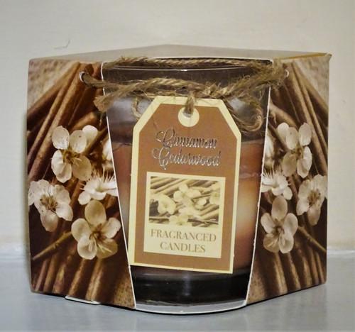 Layered Scented Candle - Cinnamon Cedarwood
