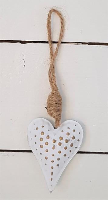 Mini Metal Hanging Heart