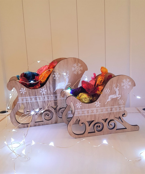 Small Wooden Sleigh