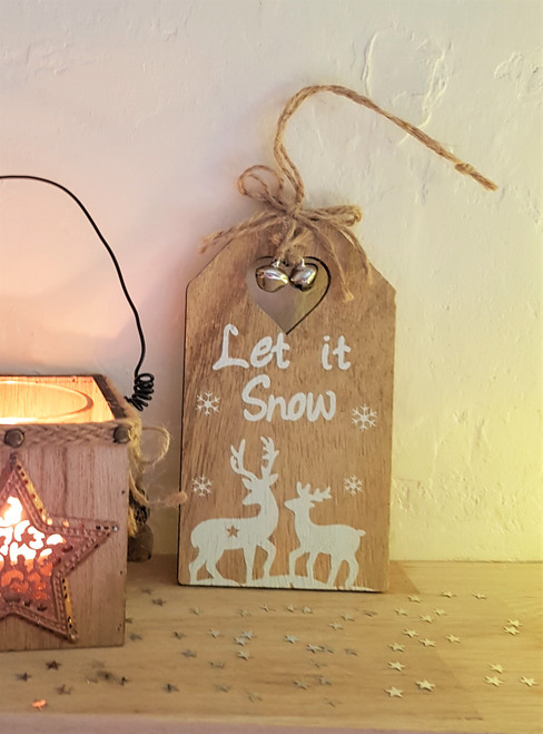 Hanging Wooden Tag