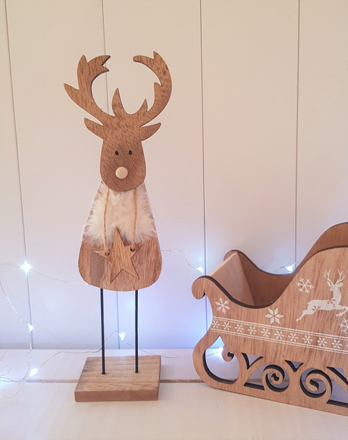 Reindeer with Star