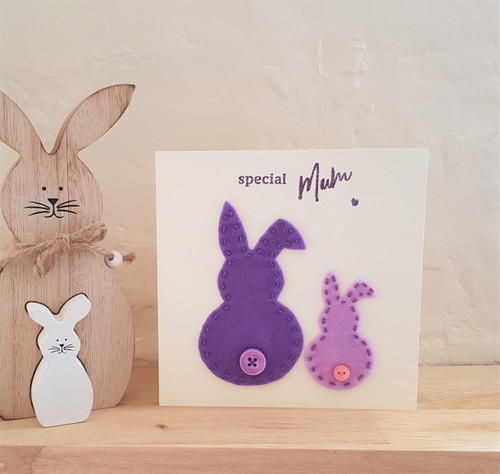 Special Mum Bunny card