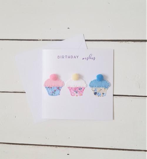 Small Cupcakes Birthday Card