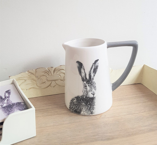 Small Ceramic Hare Jug