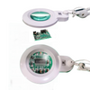 3 Diopter (1.75X Magnification) LED Magnifying Lamp with Clamp, 5 inch Lens + Flip Cover