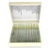 25 Prepared Microscope Slides Specimen Set, Human Anatomy Organ Tissue Cells