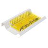 12 Pcs Kids Plastic Prepared Microscope Slides Samples (Plants)