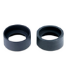 34mm Rubber Eye Cups, Microscope Eye Guards, Foldable (Pair)