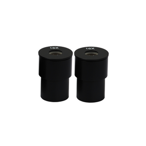 16X Microscope Eyepieces, 23.2mm, FOV 12mm (Pair)