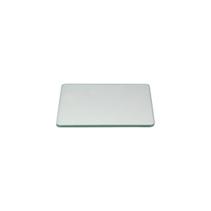 Microscope Stage Plate, Clear Glass 199x199x6mm for Metallurgical Microscope