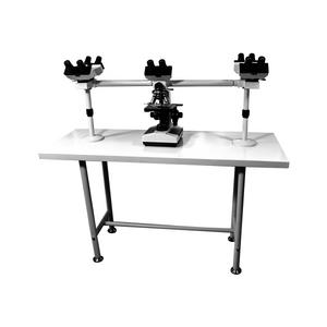 40X-1000X Five Head Multiview Teaching Biological Compound Microscope, Binocular, LED Light