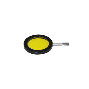 32mm Microscope Filter (Yellow) in Mount