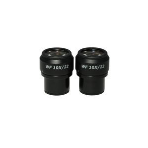 WF 10X Widefield Focusable Microscope Eyepieces, High Eyepoint, 30mm, FOV 22mm, Adjustable Diopter (Pair) MT18022221