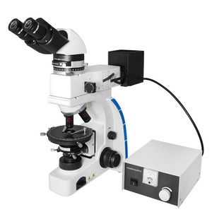 40X-1000X Polarizing Microscope, Binocular, Dual Halogen Light, Bright Field, for Geology, Petrology, Laboratories