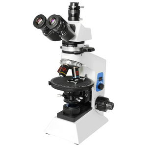 40X-400X Polarizing Microscope, Trinocular, Halogen Light, for Geology, Petrology, Laboratories PL05070303