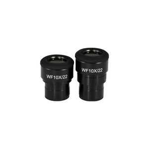 WF 10X Widefield Focusable Microscope Eyepieces, High Eyepoint, 30mm, FOV 22mm, Adjustable Diopter (Pair) PH04072221