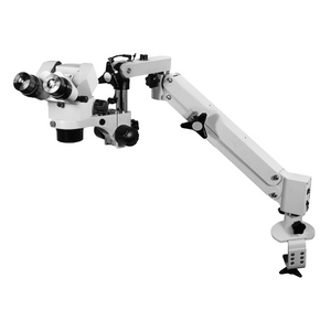 3.44X/6.25X/10.94X/18.75X/34.38X LED Coaxial Reflection Light Pneumatic Arm Binocular Parallel Multiple Power Operation Stereo Microscope SM51030121